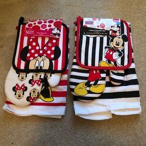 Mickey and Minnie kitchen set